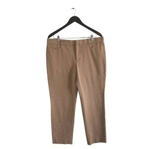 BANANA REPUBLIC Sloan Mid-rise Tapered Trousers